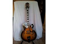 Classic tone, Semi-Acoustic Jazz Guitar Ibanez George Benson GB200 - Rare model