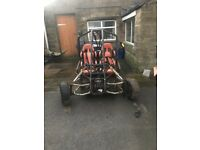 Off road buggy kandi Spyder 250cc swapz ideal to convert to superbike engine