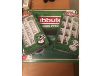 Subbuteo pitch & 2 teams