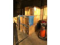 Howdens base kitchen units oak job lot new unfitted x13
