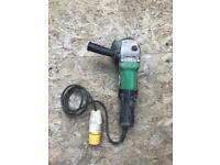 Hitachi 110v Angle grinder