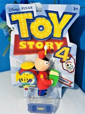 "Toy Story 4 Tinny Tin Toy Disney Pixar Action Figure Posable 6"" Inch Free Ship"