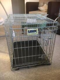 Savic dog cage 62 cm x 46 cm x 50 cm high