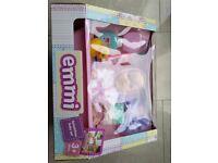 Baby Emmi Doll Splash Time Bath, Bathtub, Toy Duck,