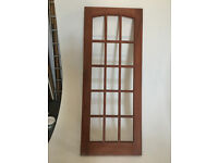hardwood doors 32 x80 x 1 3/4 inches as new two avalable