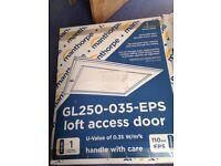 Loft access door