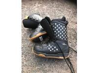 Burton size 7 snowboard boots