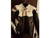 Alpinestars Atem Leather Jacket size 46 UK