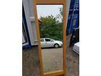 Solid Pine A Frame Full Length Mirror