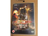 4 assorted Dr Who DVDs