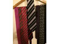 Men's tie bundle of 8