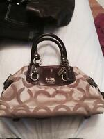 COACH - brown and gold, excellent condition