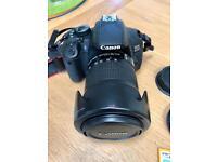 Canon 650D c/w 18-135EF lens +extras