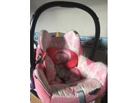 Maxi Cosi car seat/baby carrier