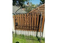 Xl iron gate with lock and key £50