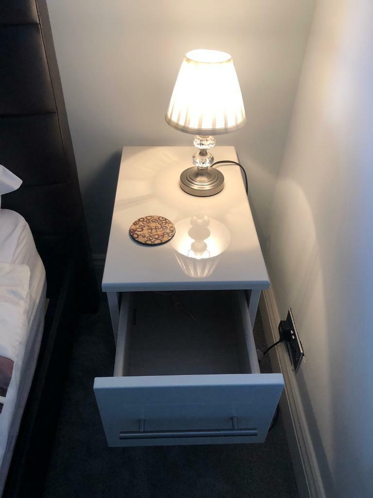 Slim Bedside Tables: Slim Bedside Table (X2)