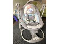 Ingenuity Electronic Convertible Baby Swing
