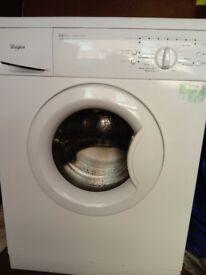 Washing machine whirlpool 6kg, 1200 rpm