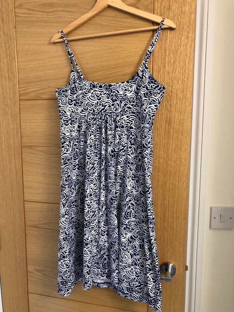 91fde12848 Blue and white mantaray summer dress   in Sheffield, South Yorkshire ...