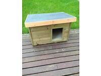 Handmade dog house, kennel, box
