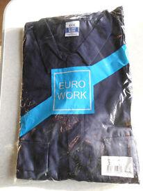 PORTWEST Euro Work Boiler Suit XXX Large - Navy