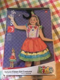 Brand new Little girls clown costume medium