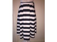 New with tags new look stripped skirt size 6