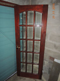2 doors including brass handles and hinges