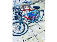 Old vintage 18 inch size no suspension mountain bike for sale or swap for iPhone 5