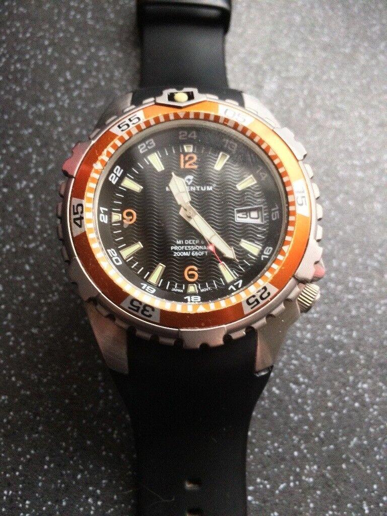 a8bc2df95df Momentum M1 Deep 6 Men s divers Quartz Watch