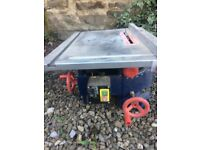 Table saw- small craft saw with accessories