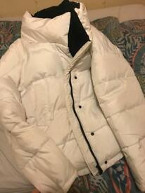 Urban outfitters light before dark coat size large