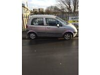 DAEWOO MATIZ. 800cc. 11month mot very low miles genuine barn find