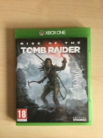 Rise of the Tomb Raider Xbox One excellent condition