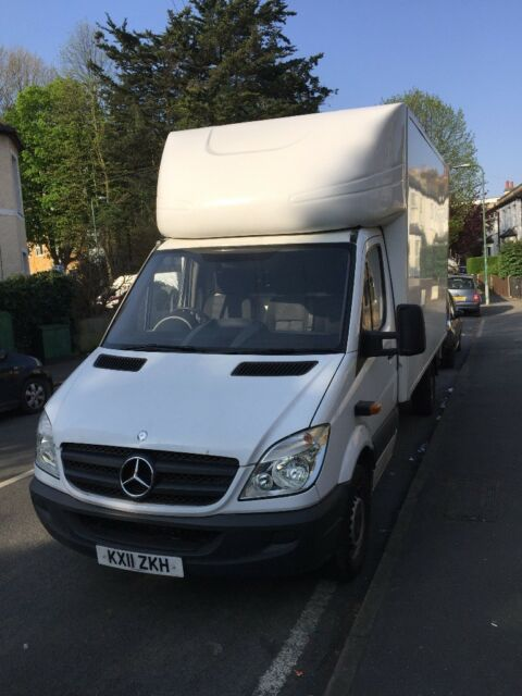 6db6c52fa18491 Mercedes Benz   Giant   Luton van for sell