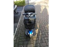 Invacare 3 wheel mobility scooter