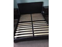 King Size Low Lying Bed Frame Exellent Condition
