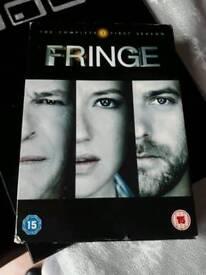 Fringe dvd box set season one 1 he Xmas present