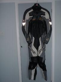 Hein Gericke Pro Sports one piece leather suit - medium