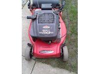 Lawn Mower Petrol Castle XS 50 RBSE Model
