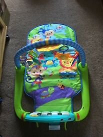 Fisher price piano playmat
