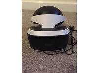 PSVR one month old. hardly used