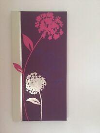 Three canvas prints
