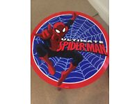Children's Spider-Man table and 2 chairs