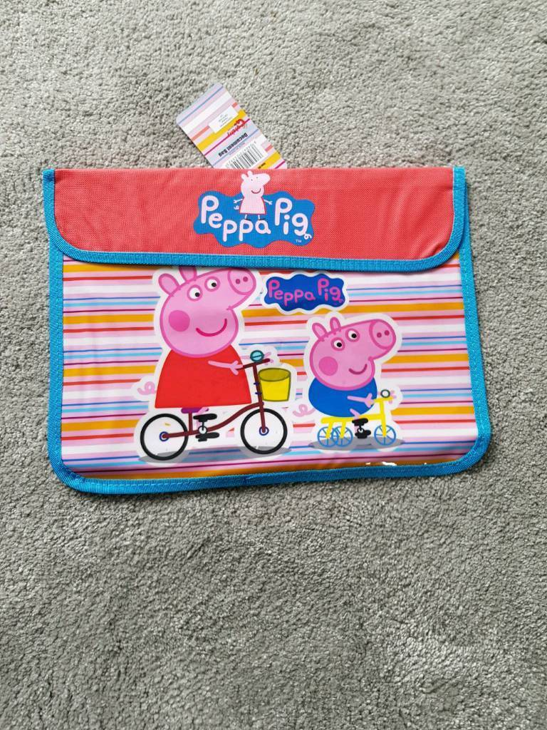 Kids Character Book Bags Peppa Pig Cars Thomas And Friends