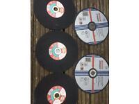 Grinding wheels, 3xStone2xMetal