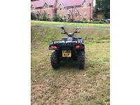 Quadzilla 4wd road registered