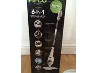 Pifco 6 in 1 Steam Cleaner - as new