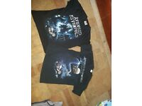 Avenged Sevenfold T Shirts (1 small and 1 medium)