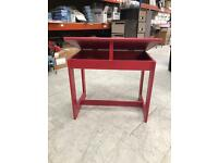 Red kids desk